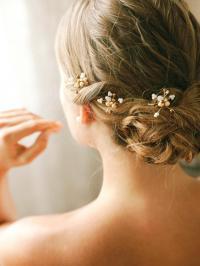 Bridal Pearl Bobby Pins, Wedding Hairpins, Bridal Bobby ...