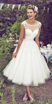 T Length Wedding Dresses - Flower Girl Dresses
