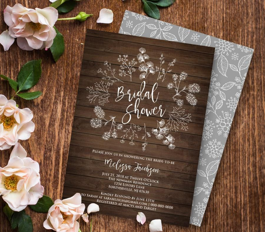 pdf invitations - Minimfagency - Free Printable Wedding Shower Invitations Templates