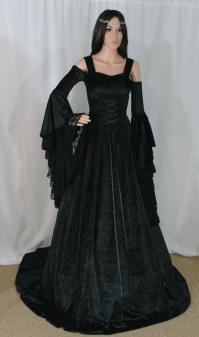 Gothic Dress, Renaissance Dress, Medieval Dress ...