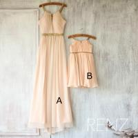 2016 Mix And Match Bridesmaid Dress Long, Peach Baby ...