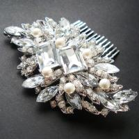 vintage wedding hair combs vintage style bridal hair comb ...