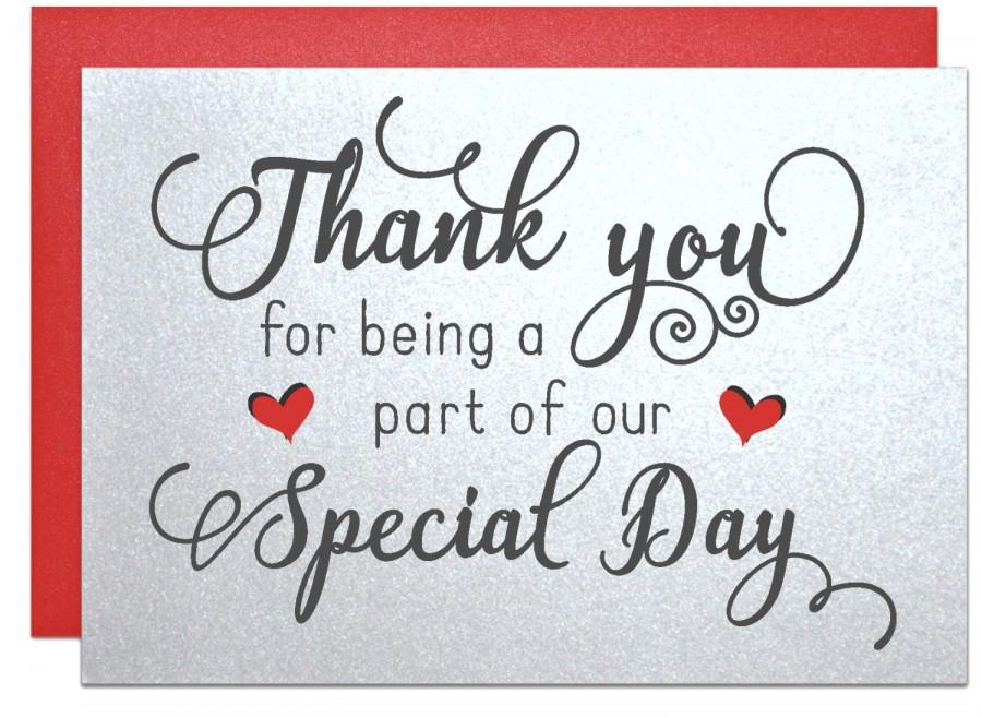 Wedding Thank You Notes Wedding Thank You Cards Thank You For Being - cards party