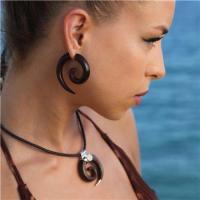 Lila Fake Gauge Earrings - Faux Gauge Earrings - Fake Ear ...