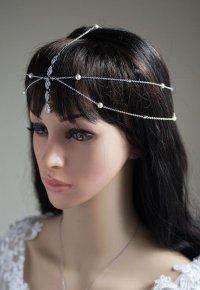 1920s Hair Jewelry Unique Wedding Headpiece Wedding Hair ...