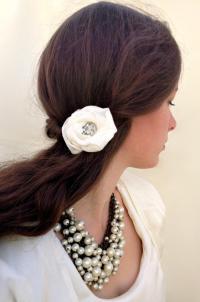 Vintage Wedding Hair Flower, Wedding Hairpiece, Vintage ...
