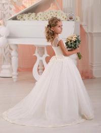 Ivory Toddler Flower Girl Dresses - Wedding Dresses In Jax