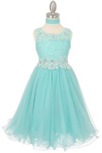 Junior Bridesmaid Dresses Aqua - Discount Wedding Dresses