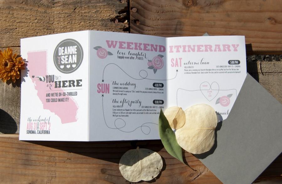 Wedding Weekend Itinerary, Wedding Itinerary, Wedding Timeline