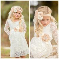 Lace Girl Dress, Flower Girl Dress, Flower Girl Lace ...