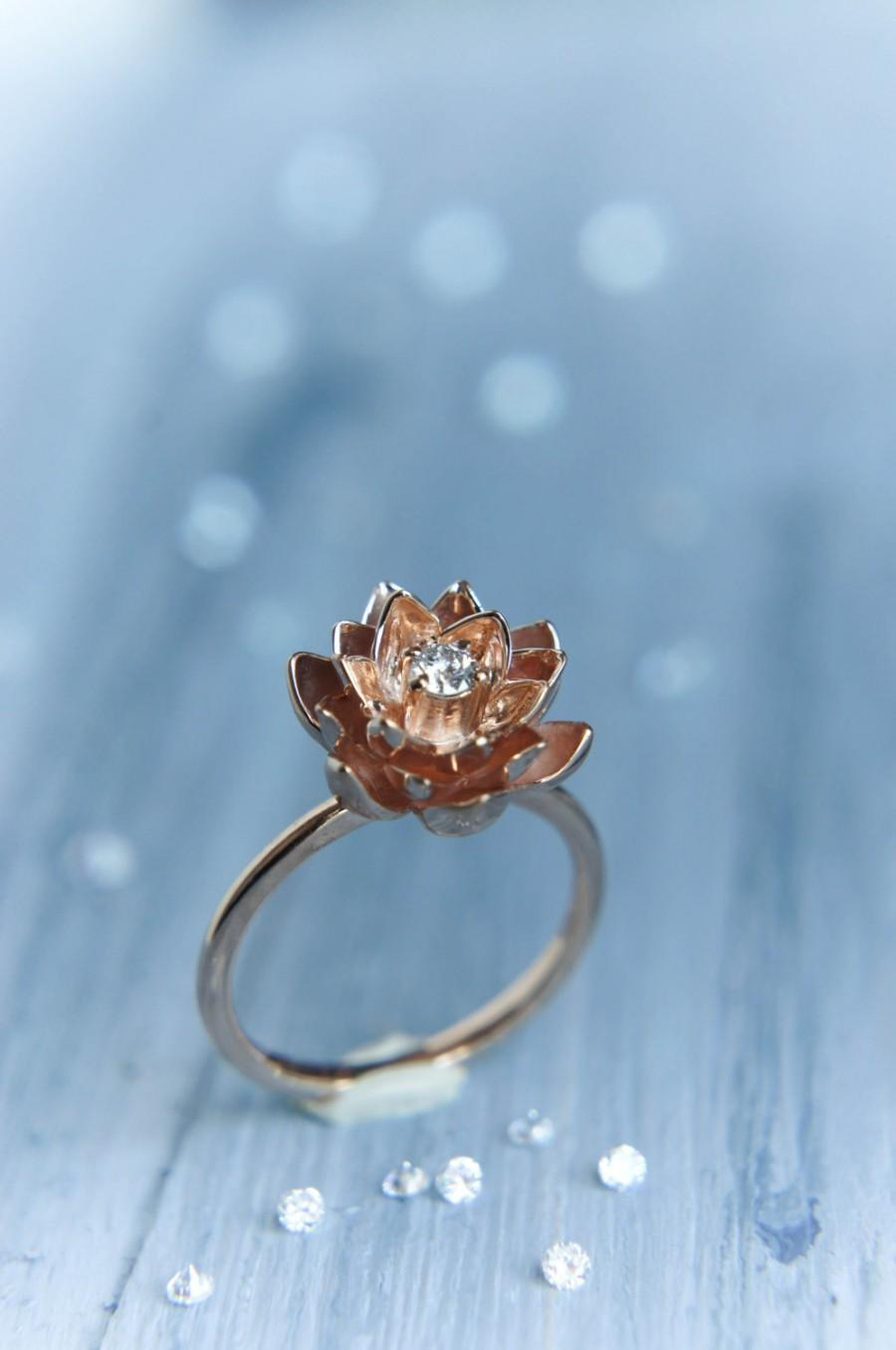 my new addition to my stack flower wedding band flower wedding ring Post 5