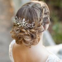 bridal hair combs wedding hair combs decorative hair pearl ...