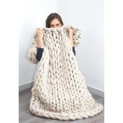 Small Crop Of Merino Wool Blanket