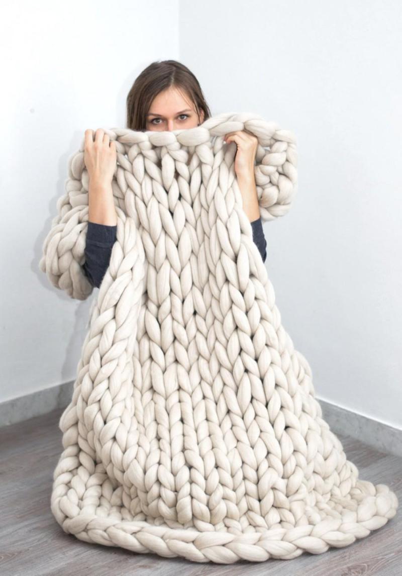 Large Of Merino Wool Blanket