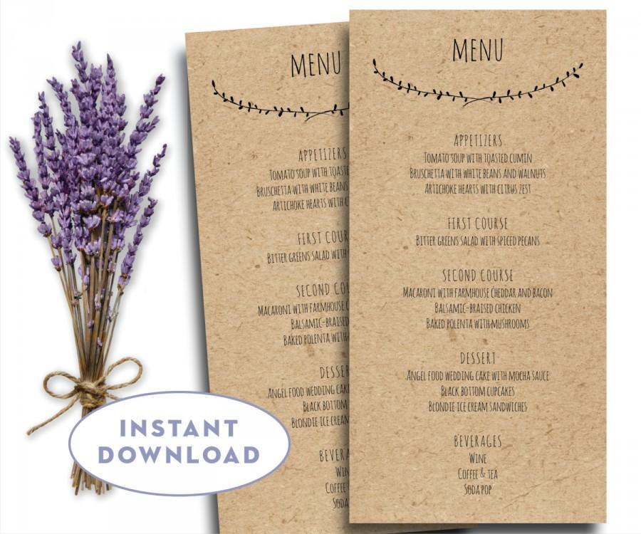 menu templates pages - Goalgoodwinmetals - free word menu template