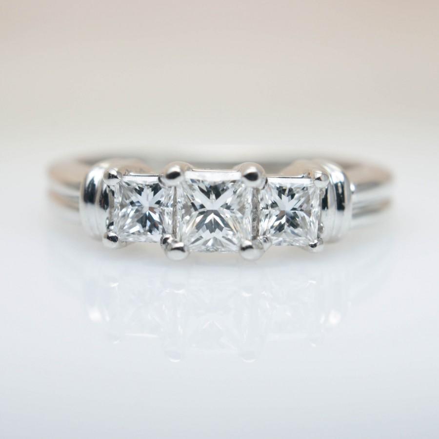 3 Band Wedding Rings