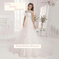 Bling Brides Maternity Wedding Dresses Lace Empire Bridal ...