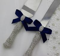 Your Color , Wedding Cake Knife And Server Set ...