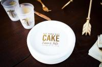 Personalized Plates, Plastic Plates, Cake Plates, Wedding ...