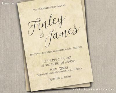 Font Wedding Invitation Envelopes | Invitationsjdi.org