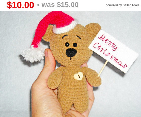 Sales Amigurumi Teddy Bear Teddy Bear Crochet Toy Knitted Teddy Bear