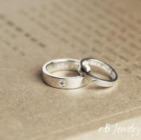Matching Promise Rings, His And Her, Anniversary Gift ...