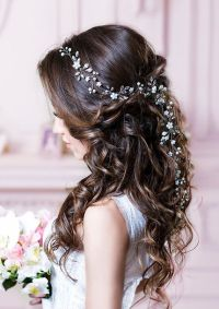 Bridal Hair Vine Long Hair Vine Wedding Hair Vine Flower ...