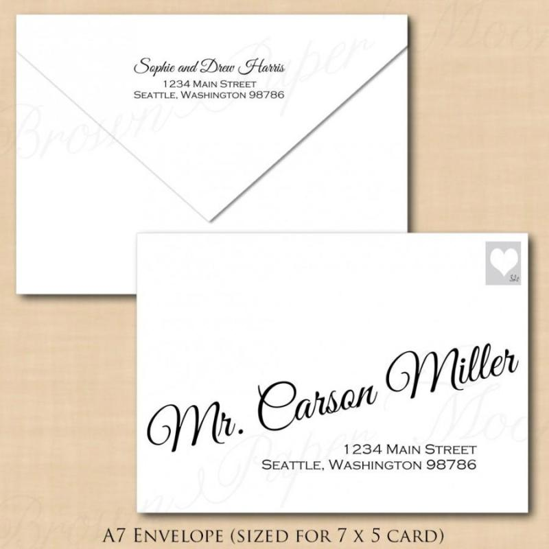 Large Of Wedding Invitation Envelopes