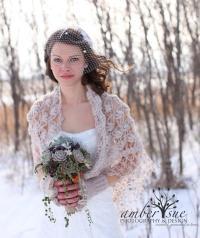 Wedding Shawl,Bridal Cape,Bridal Shrug,Winter Wedding ...