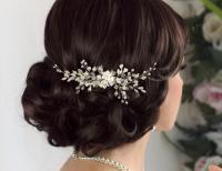 Bridal Hair Comb Bridal Comb Pearl Hair Comb Wedding Hair ...