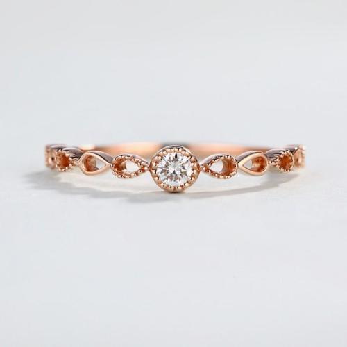 Medium Crop Of Rose Gold Promise Ring