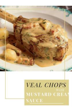 Breathtaking Mustard Recipe Weddbook Veal Chop Recipes Red Wine Veal Chop Recipes Oven Mustard Recipe Food Favor Veal Chops Veal Chops