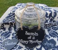 Bridal Shower Or Wedding Reception Keepsake Jar - Perfect ...