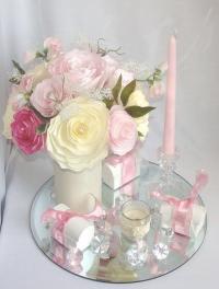 Romantic Wedding Decor, Pink Bridal Decor, Wedding ...