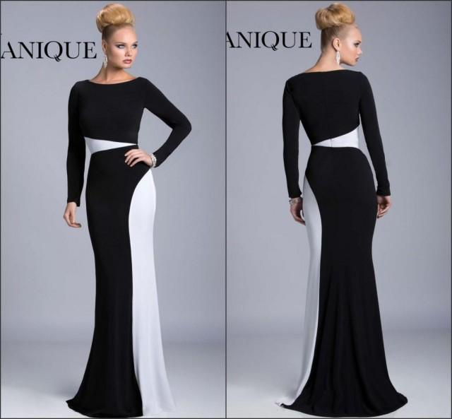New Arrival Long Sleeve Fall Winter Evening Dresses 2015