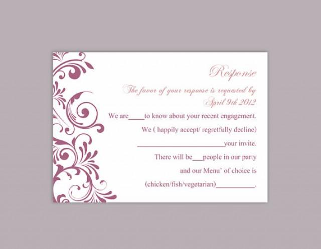 free printable wedding invitations and rsvp cards - 28 images - free printable wedding rsvp cards