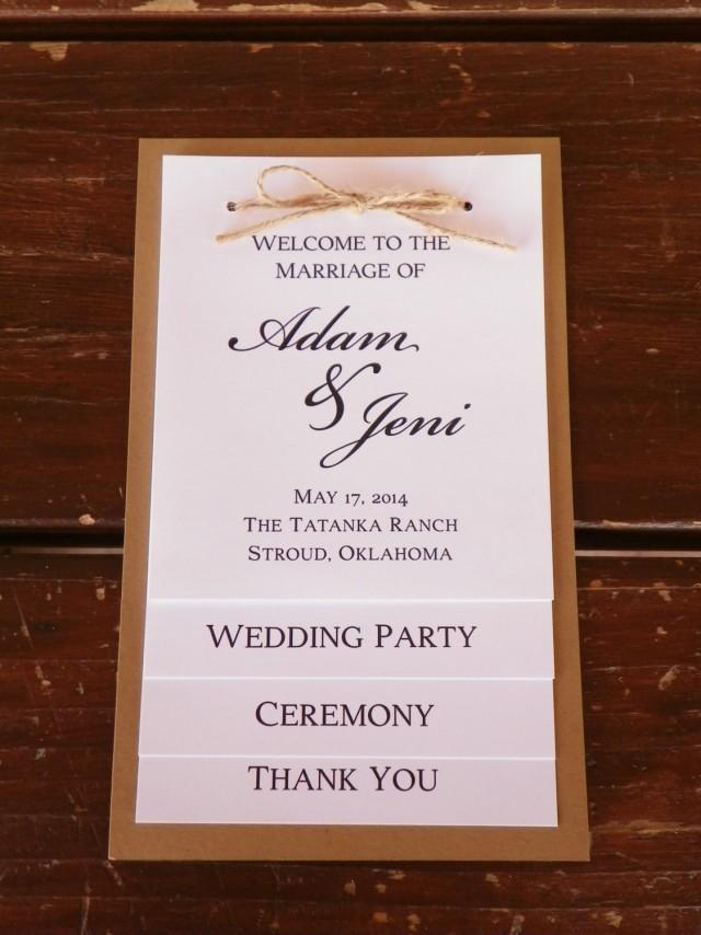 Invitation Card For Wedding Layout Tiered Wedding Program, Wedding Party, Thank You Card