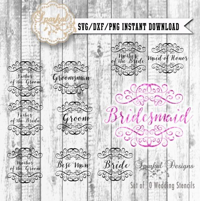 Best Wedding Invitation Font In Word Wedding Cut File Bridal Svg Cutting File, Groom