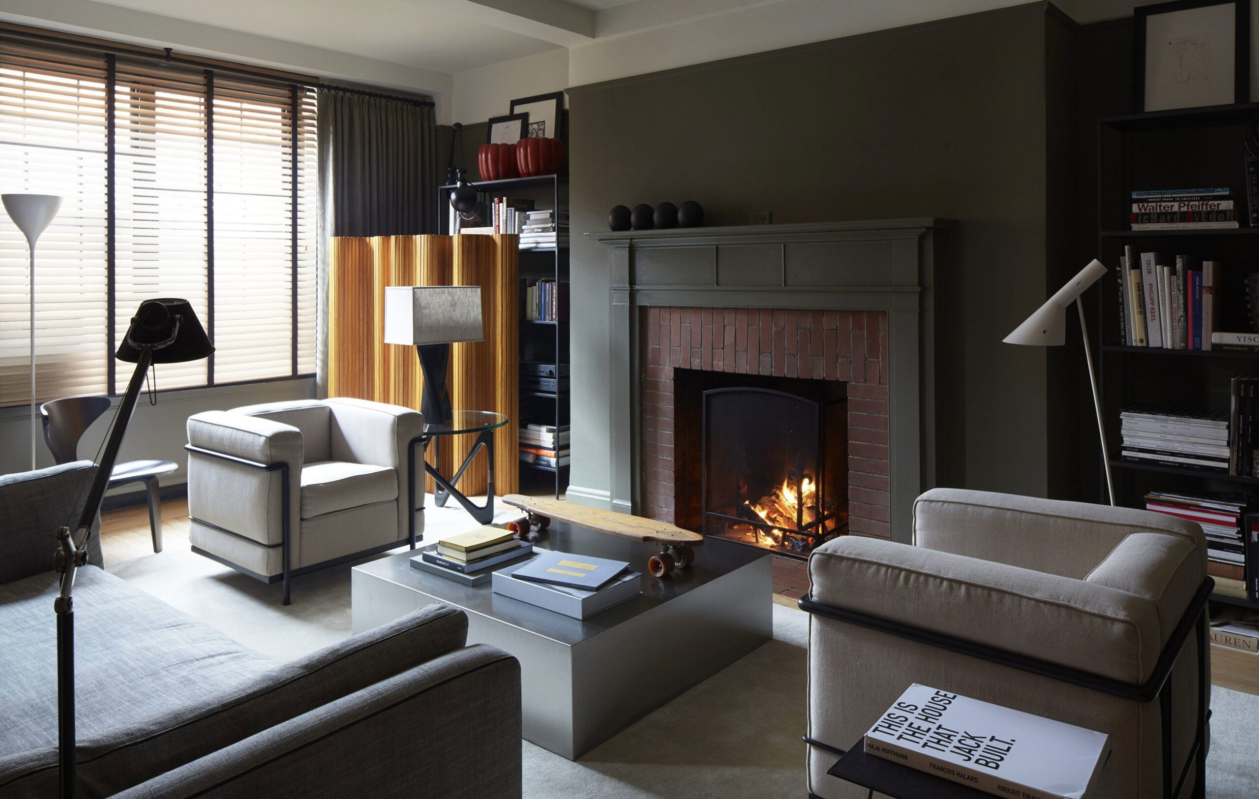 40 Spectacular Spaces Warmed By Fireplaces The Study