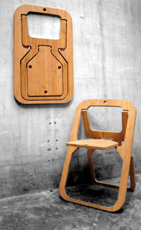 The Nesting, Stacking and Flattening Designs of Christian Desile