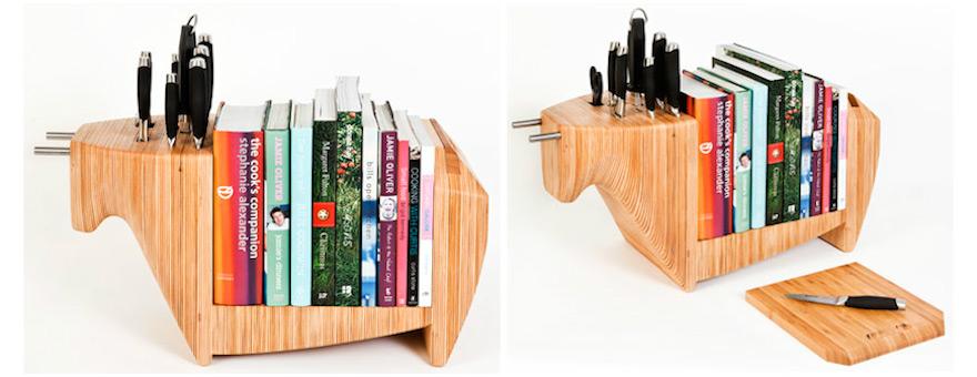 Countertop Book Rack Plans Diy Free Download Woodworking