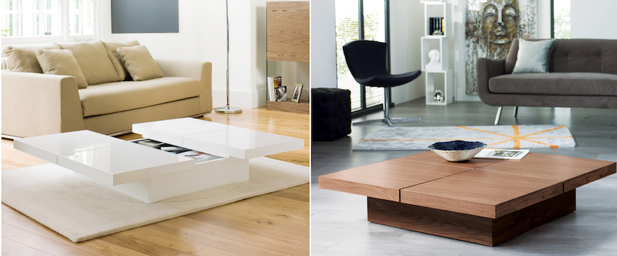 Designing For Small Spaces: Coffee Tables With Storage - Core77