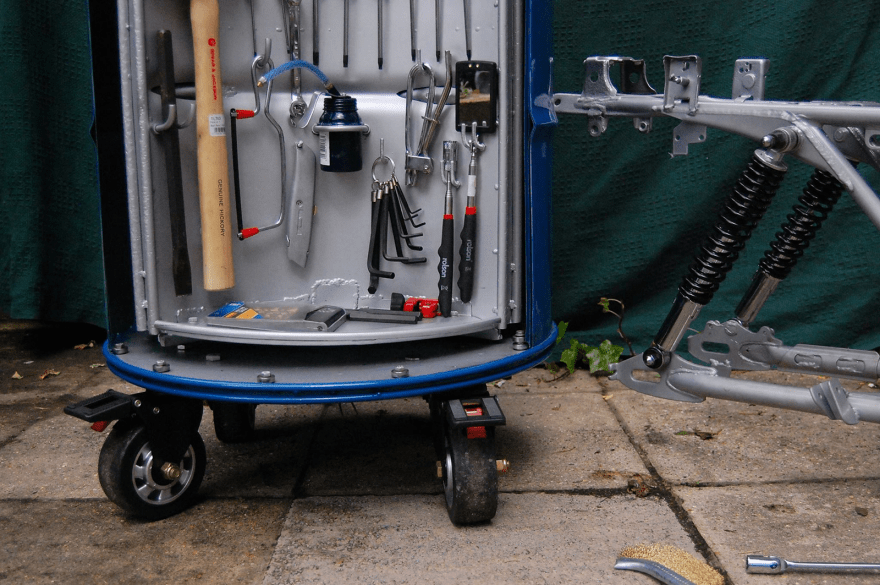 Yea Or Nay Tool Storage System Hidden In An Oil Drum Core77