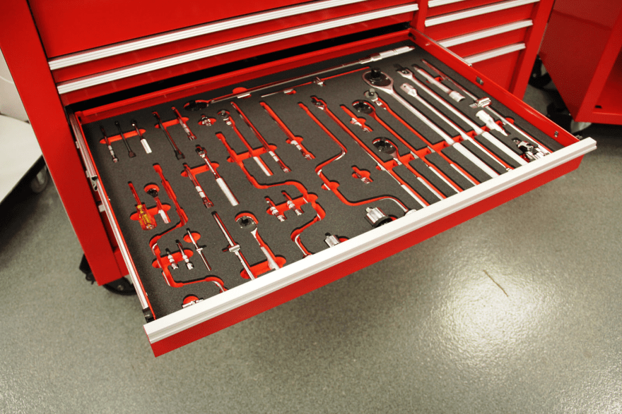 Lessons From A Wheeled Cabinet Tool Set A Place For