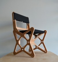 Electron Chair: A Waste-Free Flat Pack Furniture Solution ...