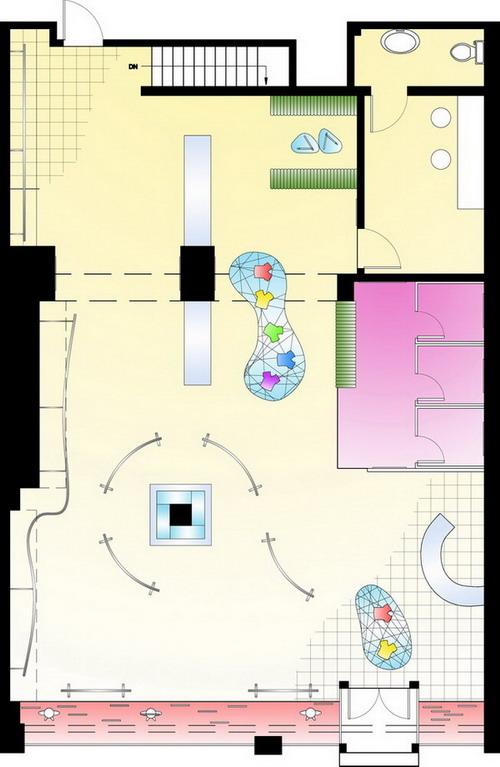 The floor plan for the proposed Apple store Studio Pinterest - new park blueprint maker