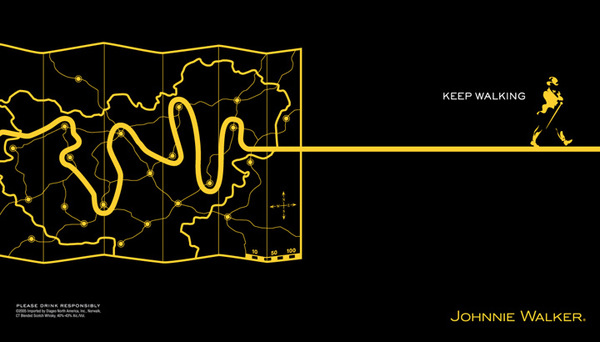 Peace Black Wallpaper Johnnie Walker By Miguel Castro At Coroflot Com