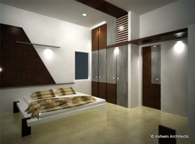 Modern Duplex House Design in Bangalore, India by Ashwin Architects at Coroflot.com