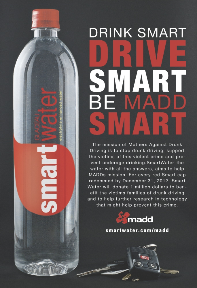 Smartwater  MADD by Shawn Darst at Coroflot