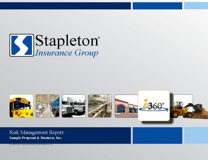 Commercial Insurance Proposal (Sample Version) by Scott Bolyard at